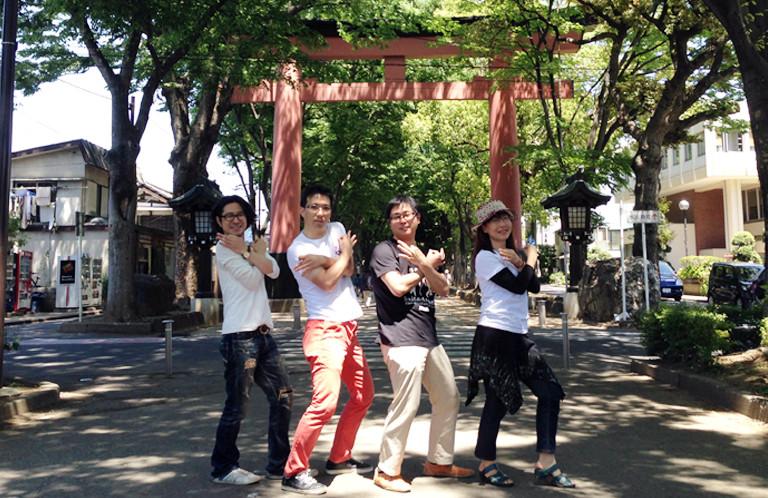 【動画】日本一長い参道でダンス!【氷川参道 / そうだ埼玉撮影】