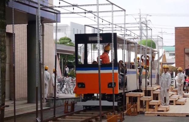 すげえ…埼玉県立川越工業高校の生徒が電車を作っちゃった