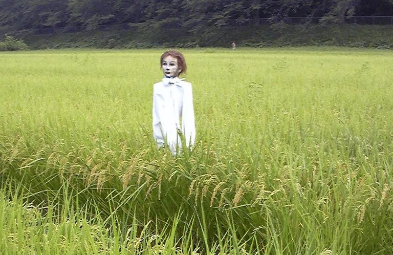 ギャア!埼玉県さいたま市見沼区にあるかかしが人も逃げるレベル【そうだ埼玉珍百景】