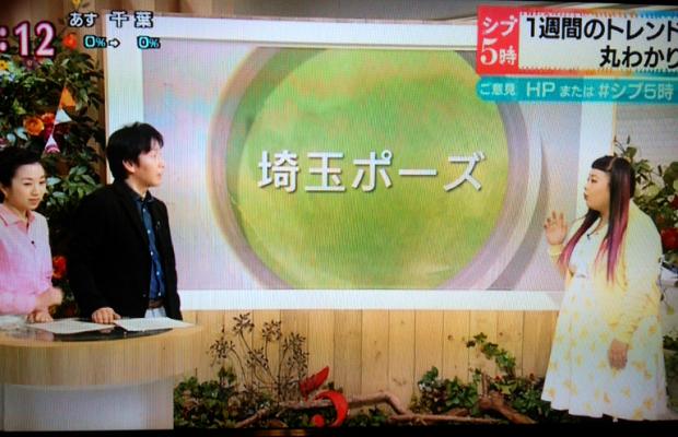 NHK「ニュース シブ5時」で当サイト発の埼玉ポーズが紹介されました!