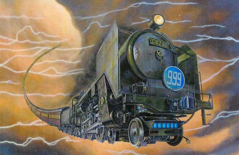 銀河鉄道999の世界を西武池袋線に復活させるクラウドファウンディング開始