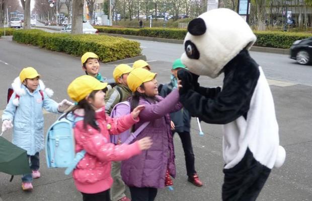 会えると幸せになれる?所沢のラッキーパンダを探せ!
