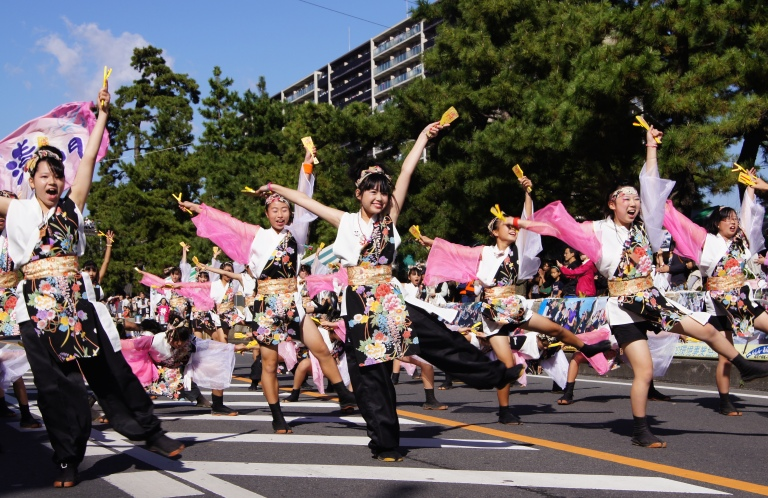 毎年20万人が来場する草加ふささら祭りが今年も開催!