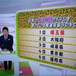 NHK「首都圏ネットワーク」で埼玉県ヒョウ柄購入全国一位特集 そうだ埼玉.comも情報提供