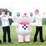 十文字学園のアイドル「プラスちゃん」ダンスが完成したよ!