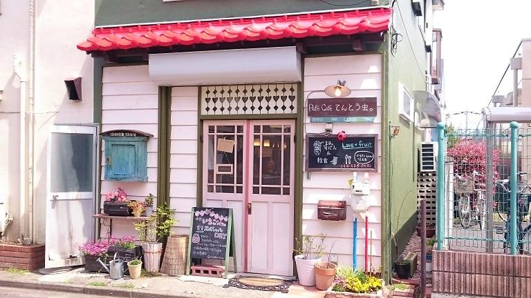 超メルヘン!埼玉のパフェ専門店てんとう虫