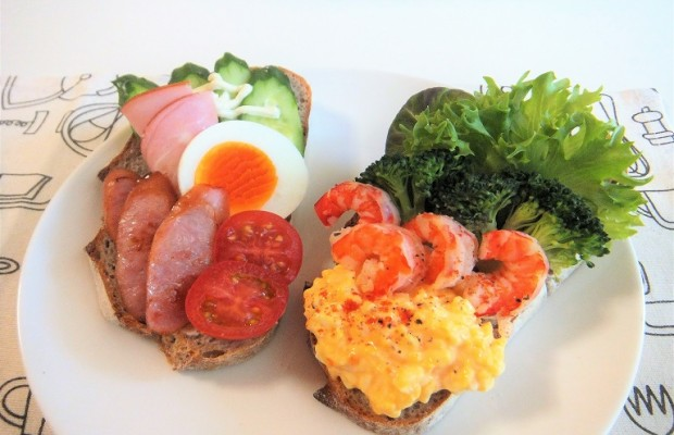 簡単でヘルシー!埼玉産野菜でデンマーク料理スモーブローを作ってみた