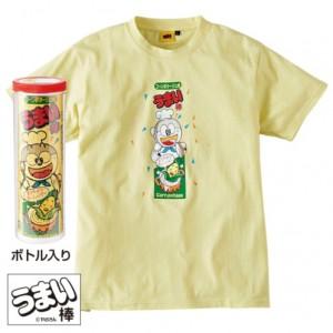 しまむらがうまい棒Tシャツを発売!ボトル入りで見た目も完全再現