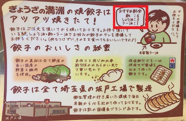 餃子の満州 ランちゃん