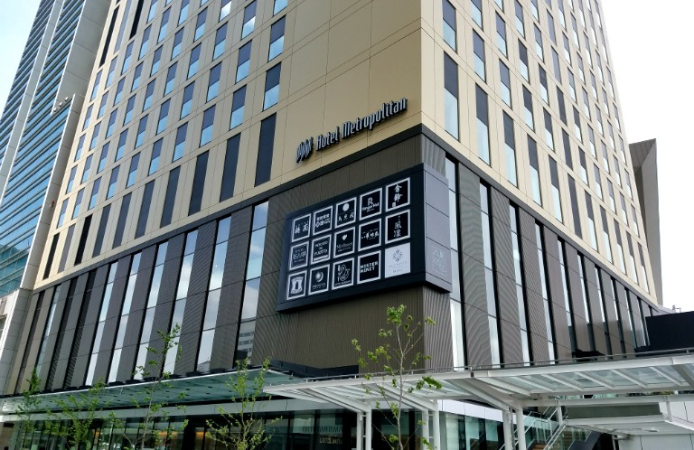 駅から徒歩1分!ホテルメトロポリタンさいたま新都心オープン!
