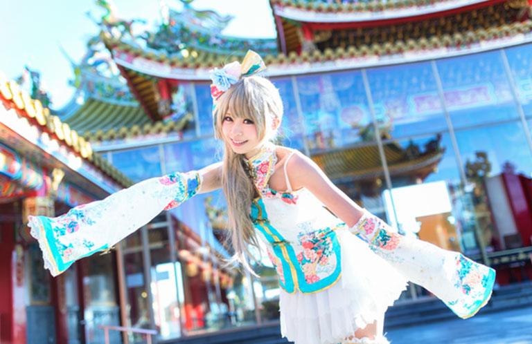 コスプレの撮影地として大人気!坂戸市の聖天宮は埼玉の台湾だ