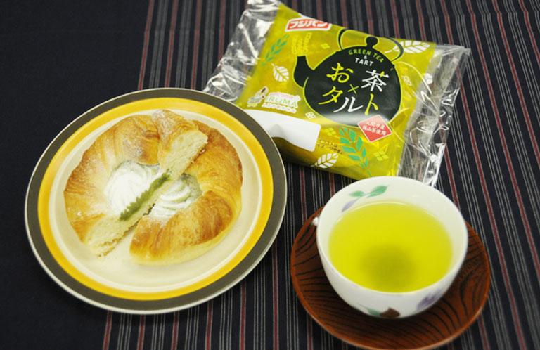 お茶ショコラに続く入間市とフジパンのコラボ商品!お茶タルト登場!