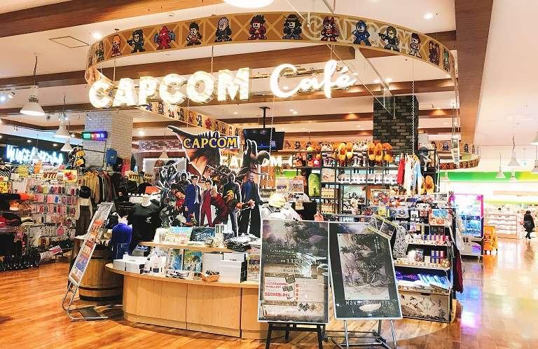ハンター集合!レイクタウンのカプコンカフェがモンハン仕様だぞ!
