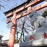 大宮氷川神社に初の狛犬!奉納したのはあの企業