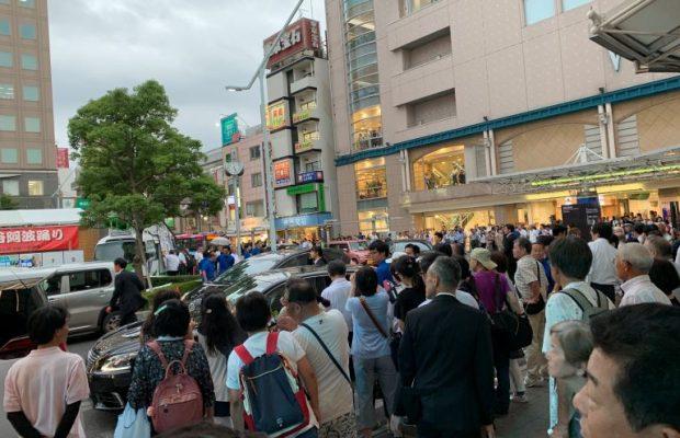 【現場実況】埼玉県知事選目前!南越谷駅前の街頭演説を見に行ってきた